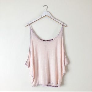 We The Free Oversized Cami Light Pink